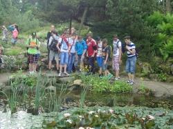 Gimnazjaliści w arboretum w Rogowie_5