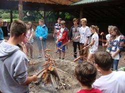 Gimnazjaliści w arboretum w Rogowie_6