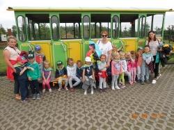 Przedszkolaki w Borysewie
